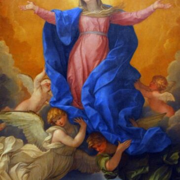 Contemplating Mary in Heavenly Glory